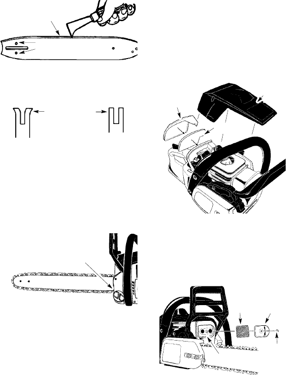 Page 15 of McCulloch Chainsaw MC3516 User Guide