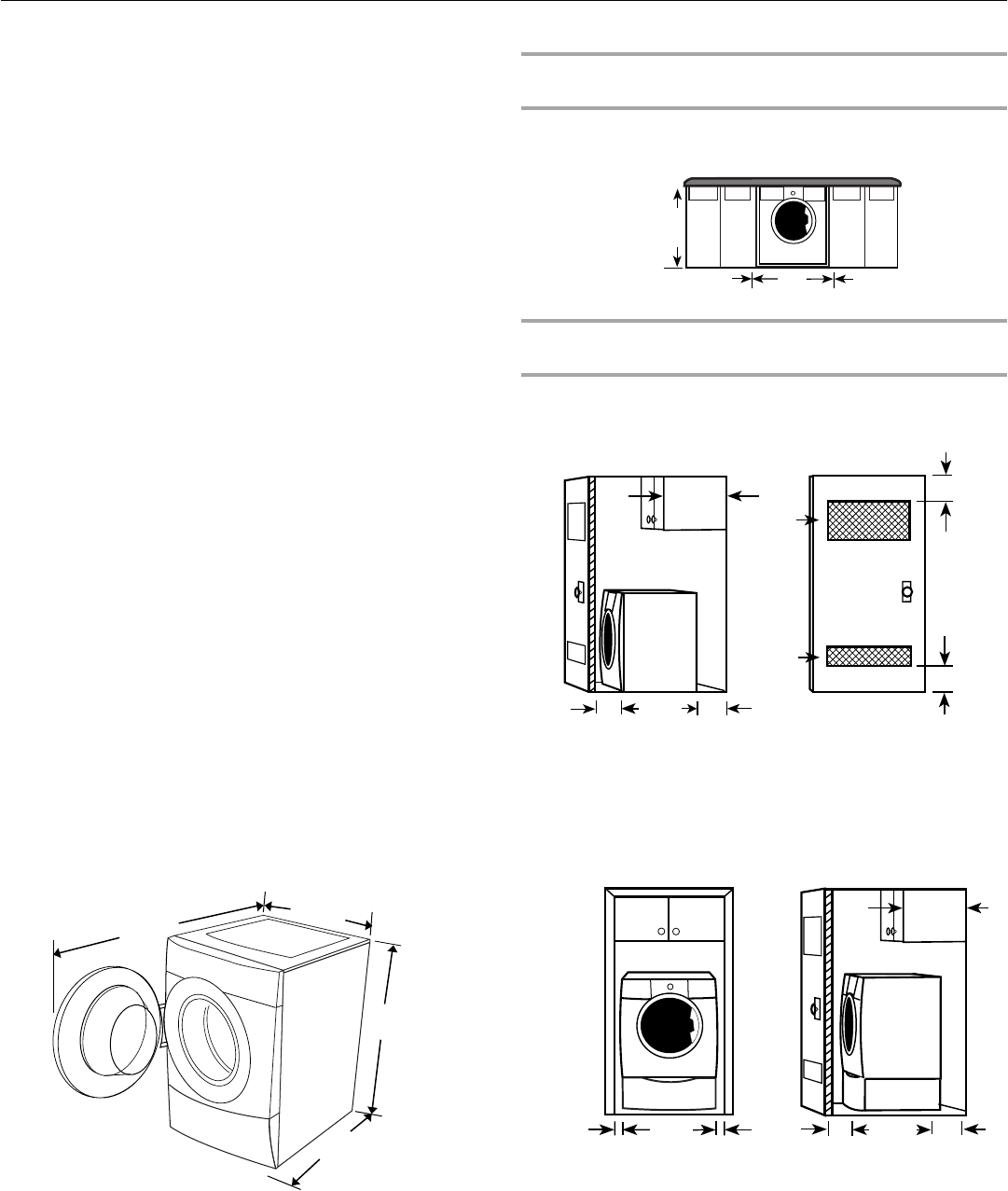 Page 6 of Kenmore Washer 110.4751 User Guide