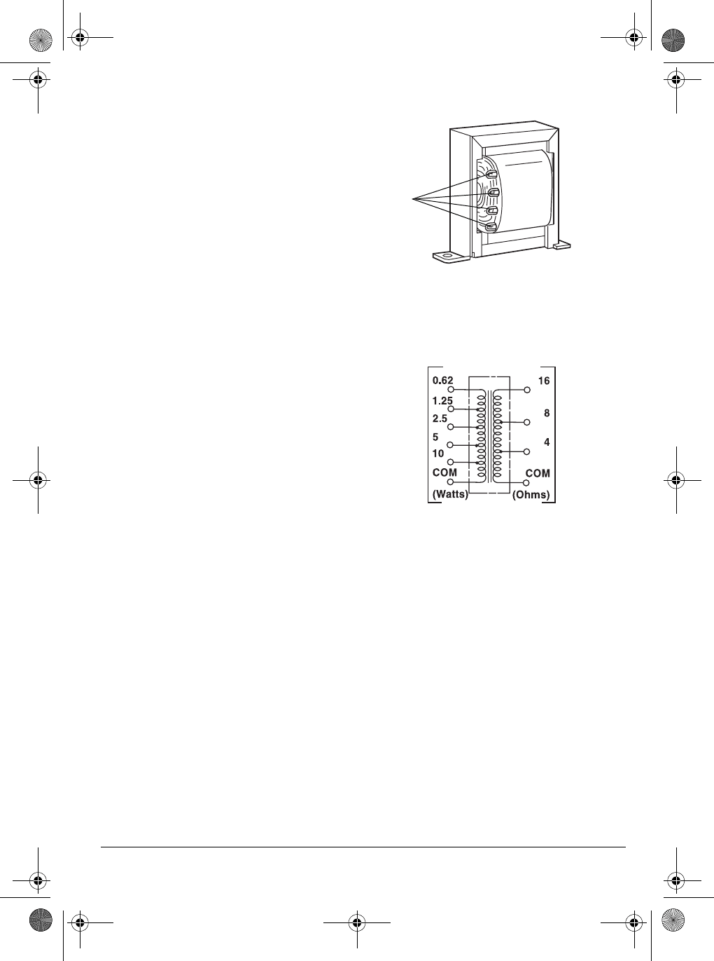 Page 11 of Radio Shack Stereo Amplifier MPA-125 User Guide