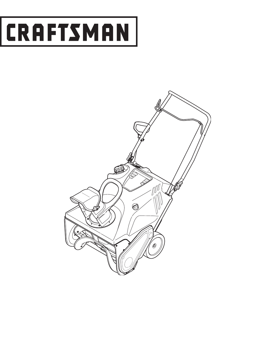 Craftsman Snow Blower 247 User Guide