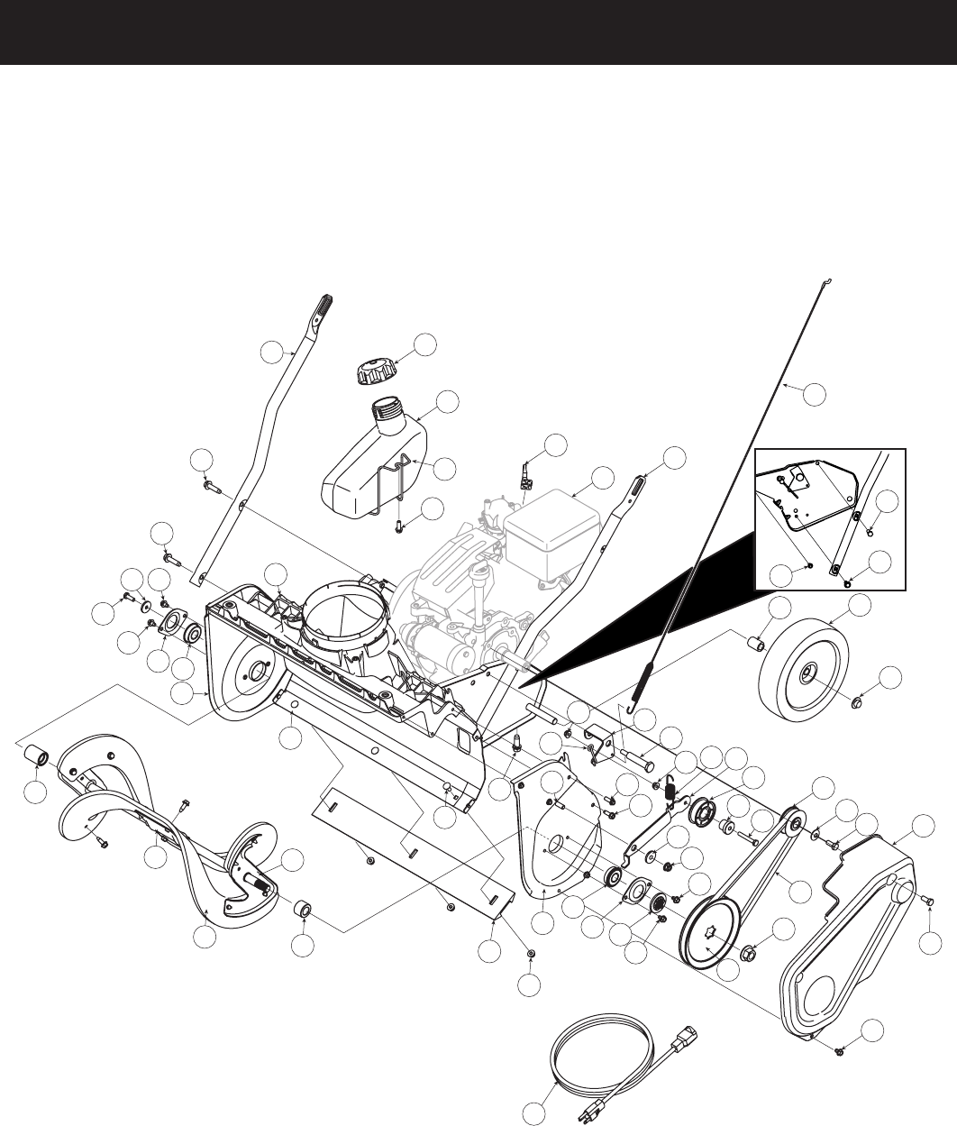 Page 2 of Craftsman Snow Blower 247.8878 User Guide