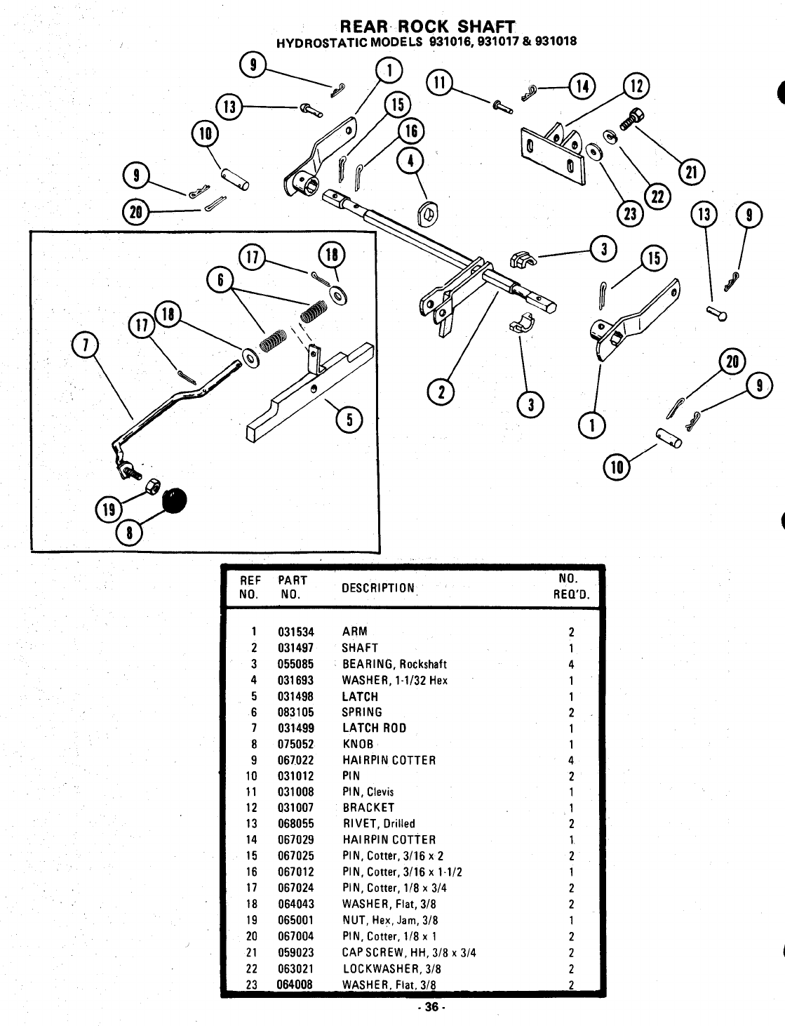 Page 36 of Ariens Lawn Mower 931017 S-14 User Guide