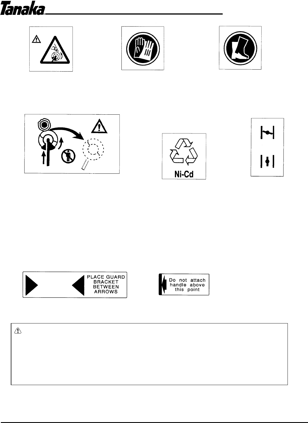 Page 3 of Tanaka Trimmer AST-210 User Guide