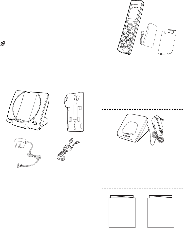 Page 7 of VTech Cordless Telephone CS6919 User Guide