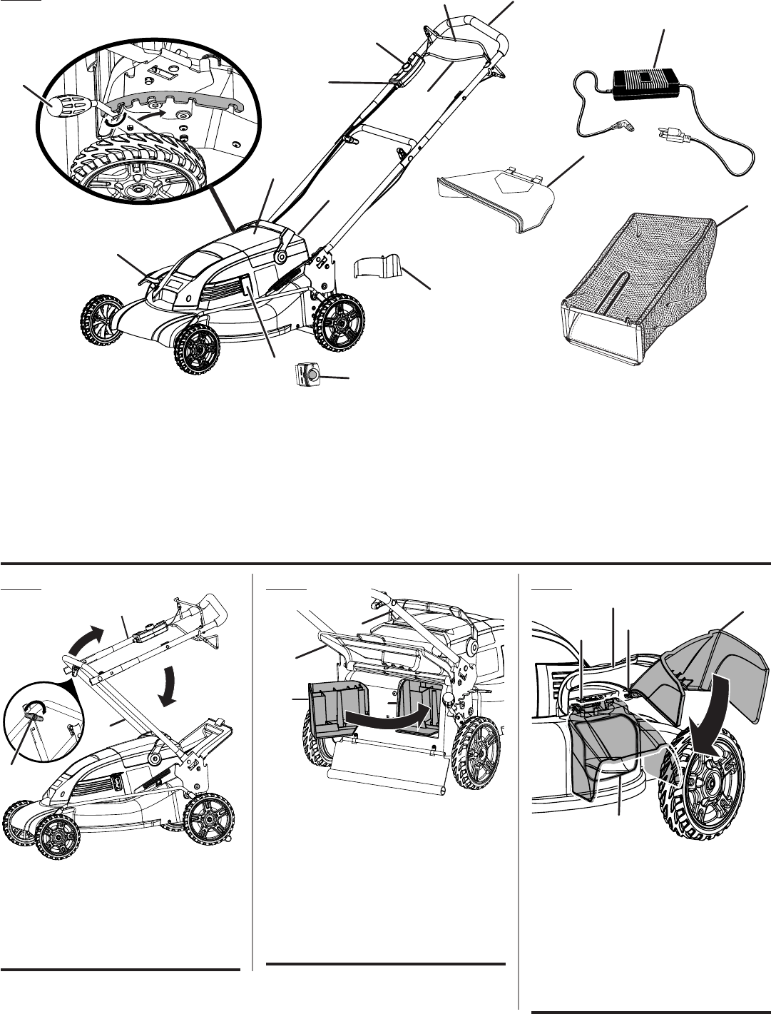 Page 3 of Ryobi Lawn Mower RY14110 User Guide