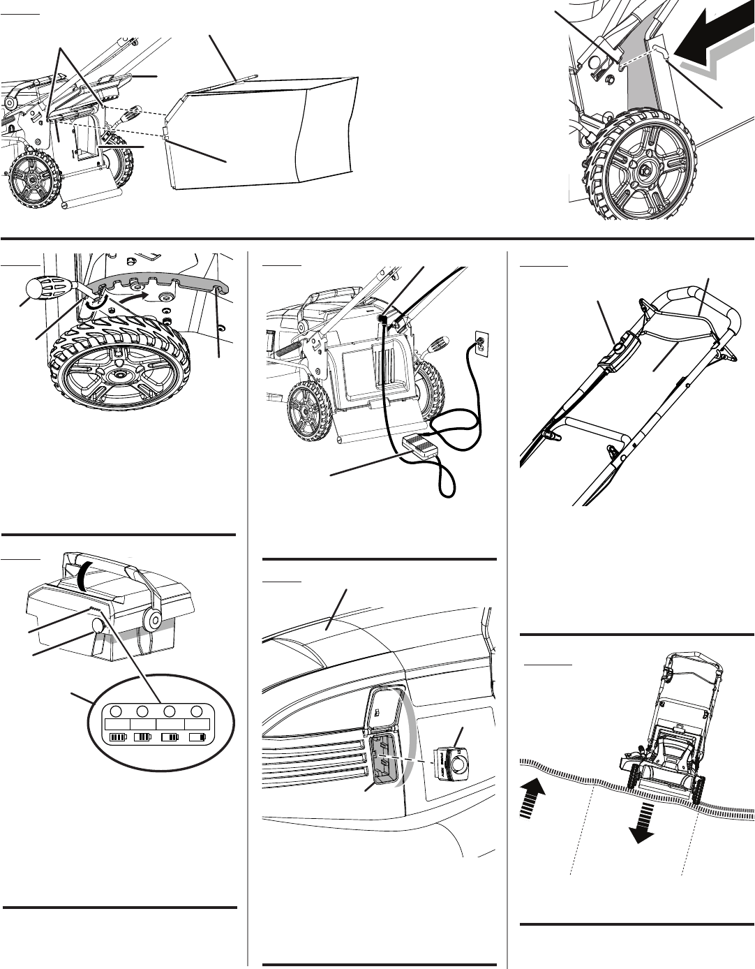Page 4 of Ryobi Lawn Mower RY14110 User Guide