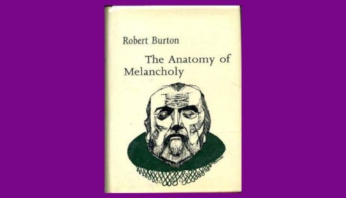 Anatomy Of Melancholy Book