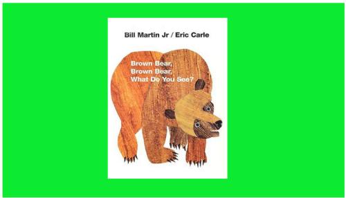 Brown Bear, Brown Bear,book pdf