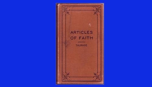 articles of faith talmage pdf