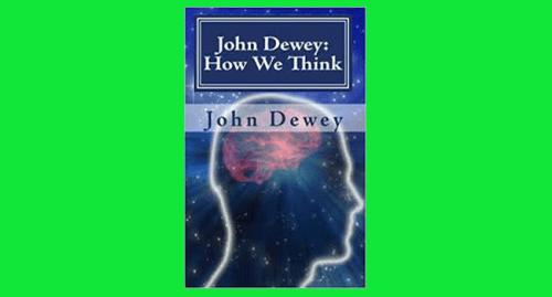 how we think john dewey pdf