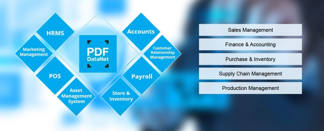 Parsing PDF files and integrating with accounts and ERP system