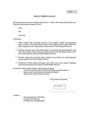 Contoh Surat Pensiun Karyawan Swasta : contoh, surat, pensiun, karyawan, swasta, Contoh, Surat, Pensiun, Online,, Printable,, Fillable,, Blank, PdfFiller