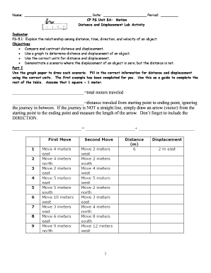Distance And Displacement Worksheet Answers : distance, displacement, worksheet, answers, Distance, Displacement, Worksheet, Answer, Resource, Plans
