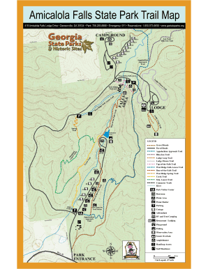 Amicalola Falls Map : amicalola, falls, Amicalola, Falls, State, World, Atlas