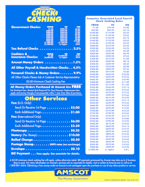 Payomatic Fees : payomatic, Check, Cashing, Chart, Gallery