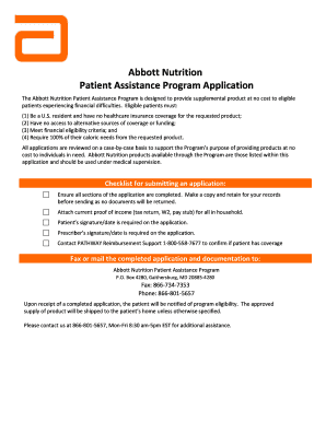 Abbott Patient Assistance Program : abbott, patient, assistance, program, Fillable, Online, Pparx, Abbott, Patient, Assistance, Oh.pparx.org, Email, Print, PdfFiller