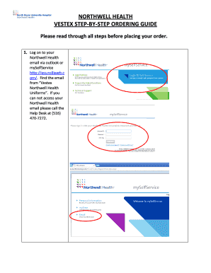 Northwell Ess : northwell, Myselfservice, Online,, Printable,, Fillable,, Blank, PdfFiller