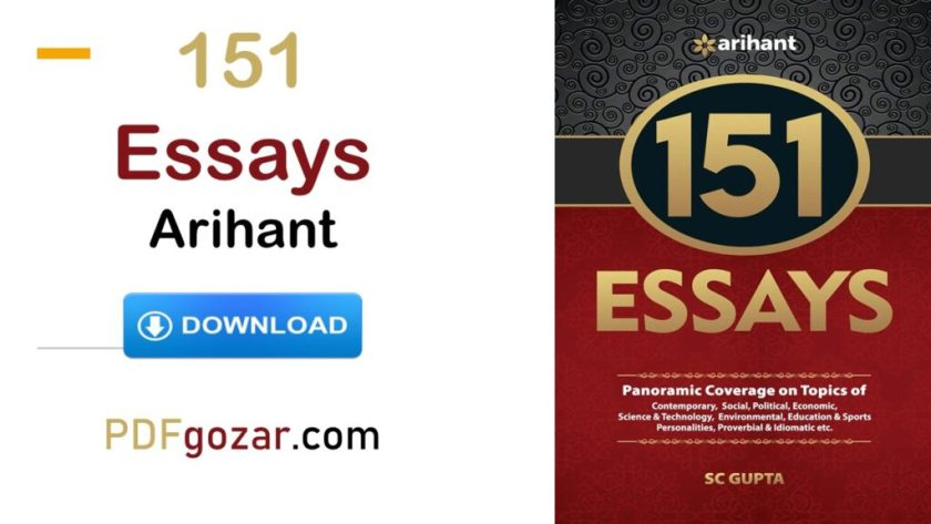 151 Essays Arihant pdf