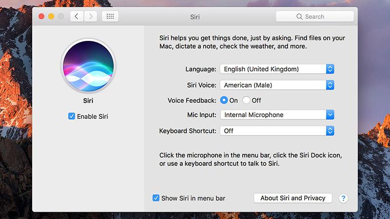 Een minuut om te weten hoe je Siri gebruikt in macOS Sierra