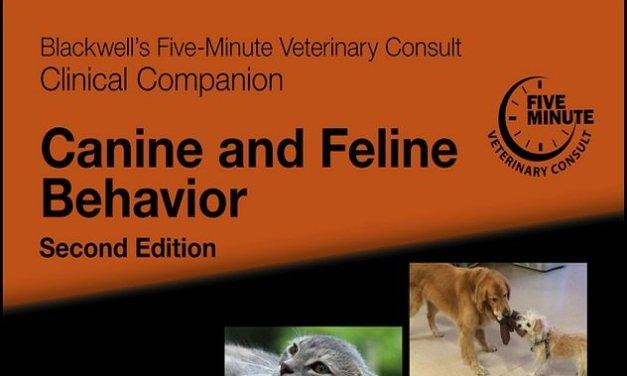 Canine and Feline Behavior 2nd Edition PDF By Debra F. Horwitz
