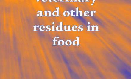 Pesticide, Veterinary and other Residues in Food PDF