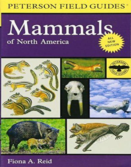 Peterson Field Guide To Mammals Of North America 4th Edition