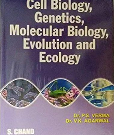 Cell biology, genetics, molecular biology, evolution and ecology