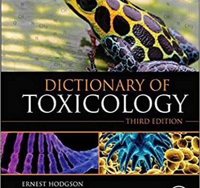 Dictionary of Toxicology 3rd Edition
