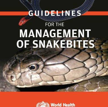 Guidelines for the Management of Snakebites 2nd Edition