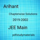 Arihant JEE Main chapterwise Solutions