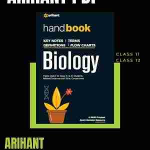 Arihant Biology Handbook pdf