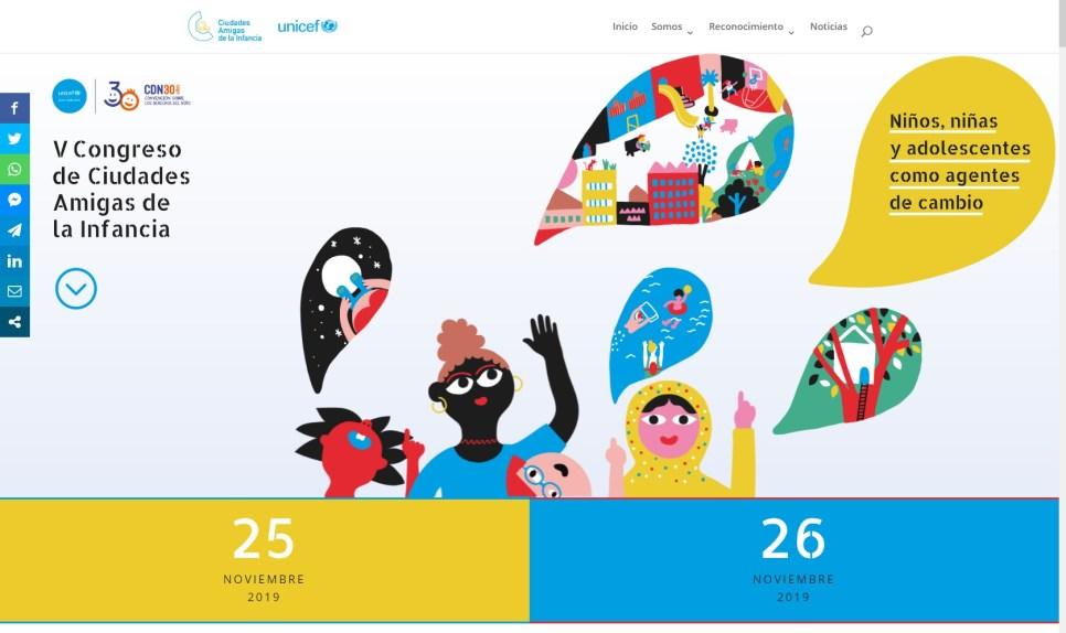 26N – El CNIAC en el V Congreso de Ciudades amigas de la Infancia, Madrid (UNICEF)