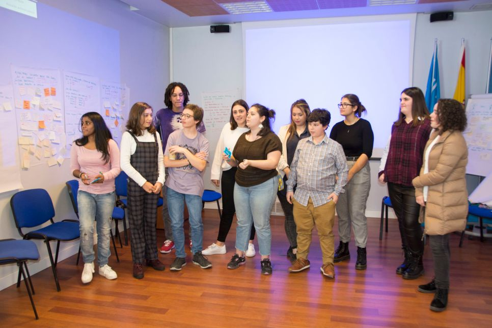 26N – El CNIAC en el Grupo Asesor de Jóvenes 2018 – 2019, UNICEF España