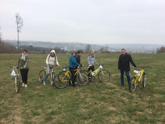Balade et pique-nique à vélo au parc de Brabois