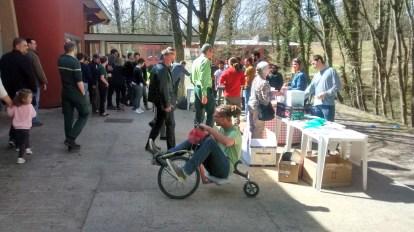 Les essais des vélos fous de l'association Dynamo