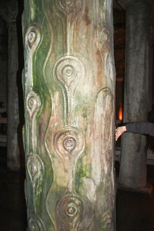 The Column with the Hen's eye markings