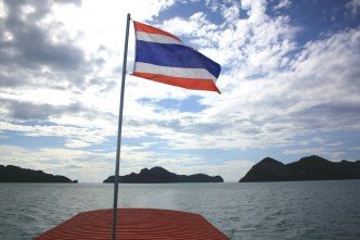 Leaving the islands, heading back to Ko Samui