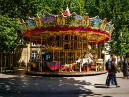 Carousel in Aix