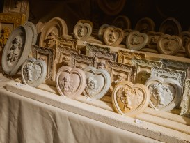 Soap stand in the fair in Grasse