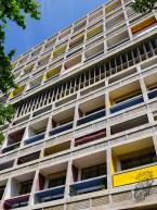 Unité d'habitation front facade