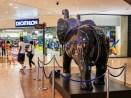 Inside the Les Terrases du Port mall