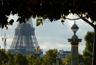 Eiffel Tower framed