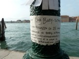Baby sitter wanted, Venice