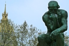 Thinker, Rodin's Garden, Paris