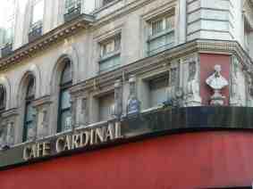 cafe cardinal, Paris