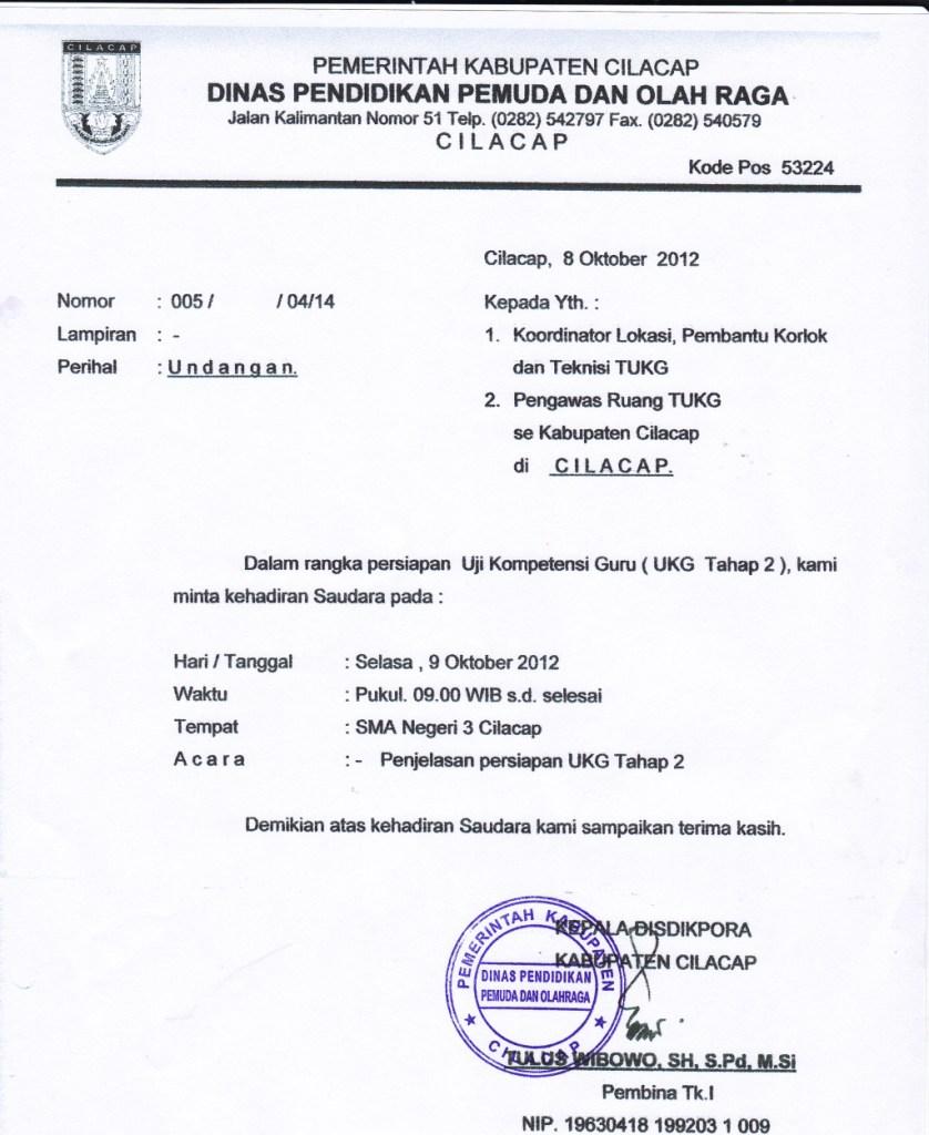 65 Free Download Contoh Surat Undangan Rapat Untuk Osis Format Doc