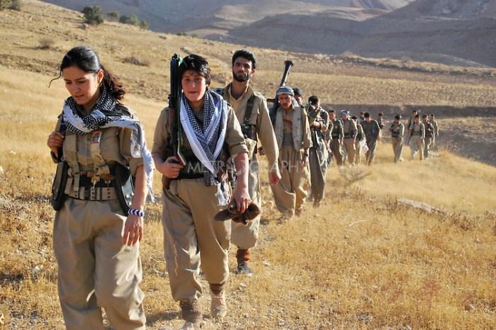 Growing Number of Kurdish Women Join PDKI's Peshmerga Forces