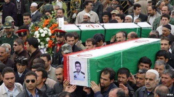 Dead Bodies of 31 Iranian Soldiers Transferred from Mariwan to Sne