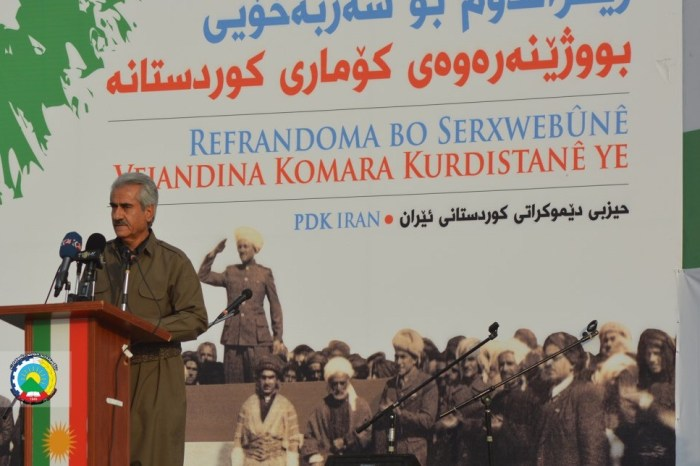 PDKI Organized a Rally in Support of Southern Kurdistan's Independence Referendum