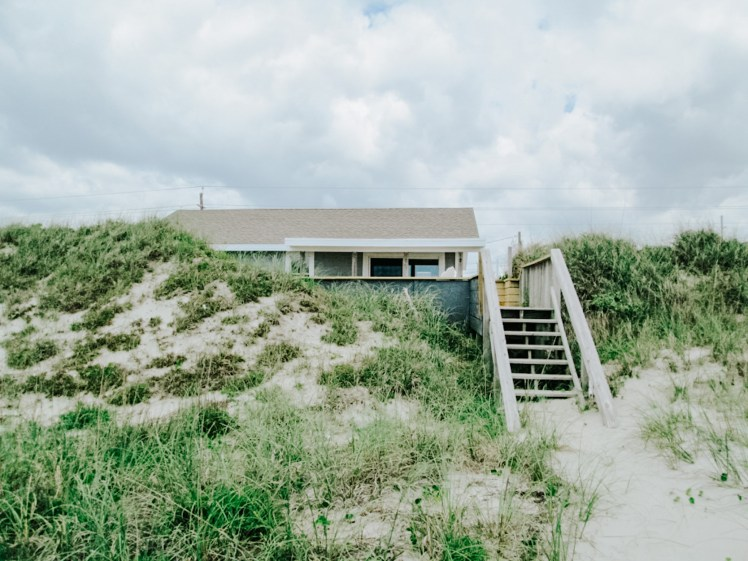 Ocean front cottage in Emerald Isle NC